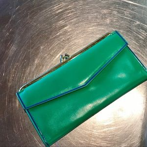 Vintage   Bright Green, Lady Buxton Wallet